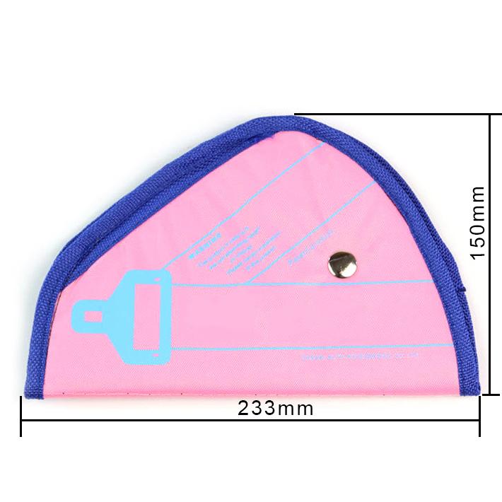 Κάλυμμα για τη ζώνη ασφαλείας στο αυτοκίνητο - Ροζ - LA-374 - Carsun 52722