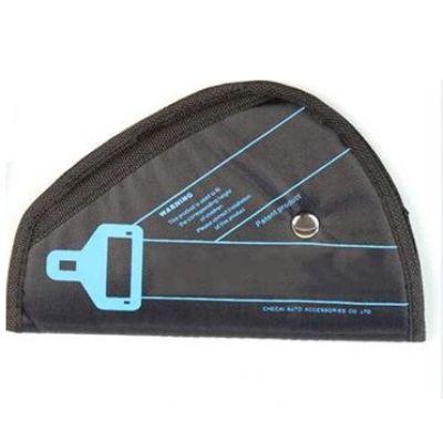 Κάλυμμα για τη ζώνη ασφαλείας στο αυτοκίνητο - Μαύρο - LA-374 - OEM 52723
