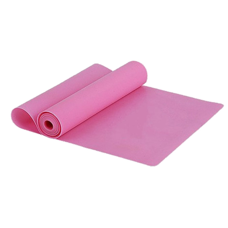 Ελαστικός ιμάντας αντίστασης για την εκγύμναση yoga και pilates 1.5m - Φούξια - OEM 52743