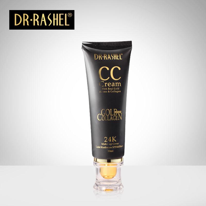 Κρέμα make up 24K CC με αντηλιακή προστασία SPF60/PA++ 50ml Brown - Dr.Rashel DRL-1174 - 52747