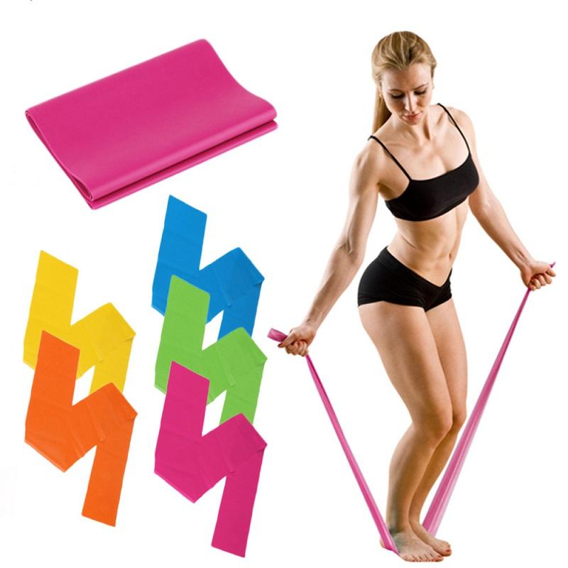 Ελαστικός ιμάντας αντίστασης για την εκγύμναση yoga και pilates 1.5m - Γκρι - OEM 52809