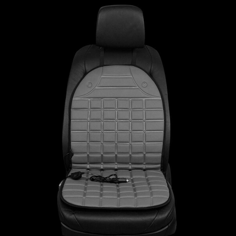 Θερμαινόμενο κάλυμμα για το κάθισμα του αυτοκινήτου - Γκρι - OEM 52848