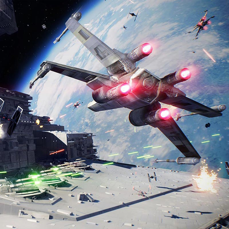 Sony Playstation 4 (PS4) Slim 1TB & Star Wars Battlefront II - Sony 52851
