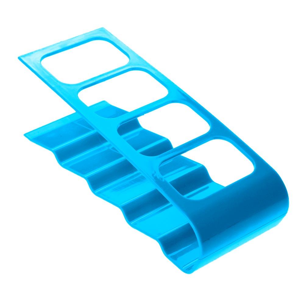 Μεταλλική βάση οργάνωσης τηλεχειριστηρίων 4 θέσεων - Μπλε - OEM 52853