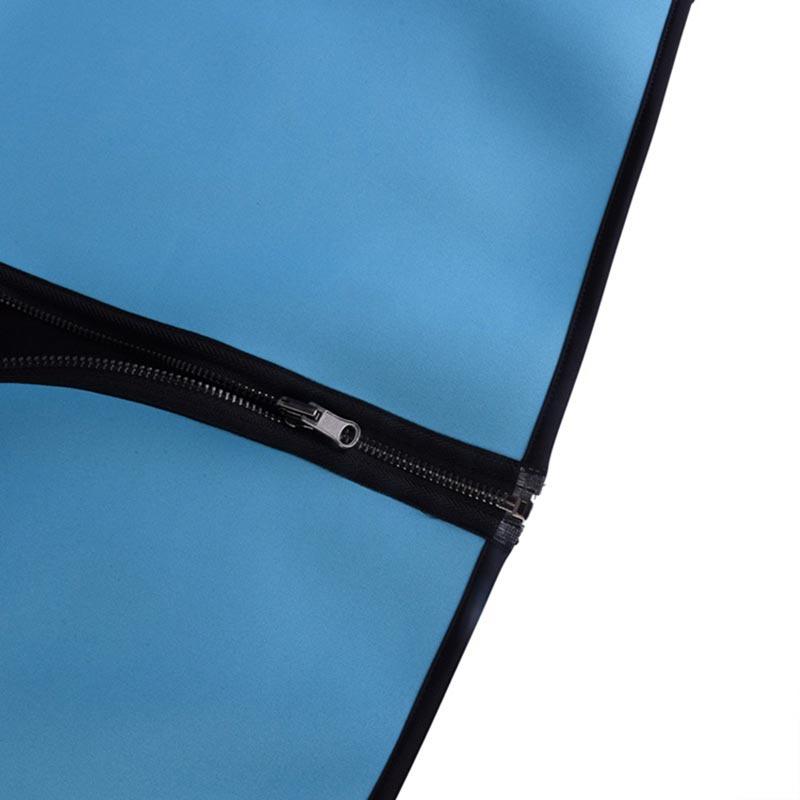 Ελαστικό γιλέκο εφίδρωσης για τοπικό αδυνάτισμα τύπου Hot Shapers - Μαύρο/Μπλε - OEM 52999