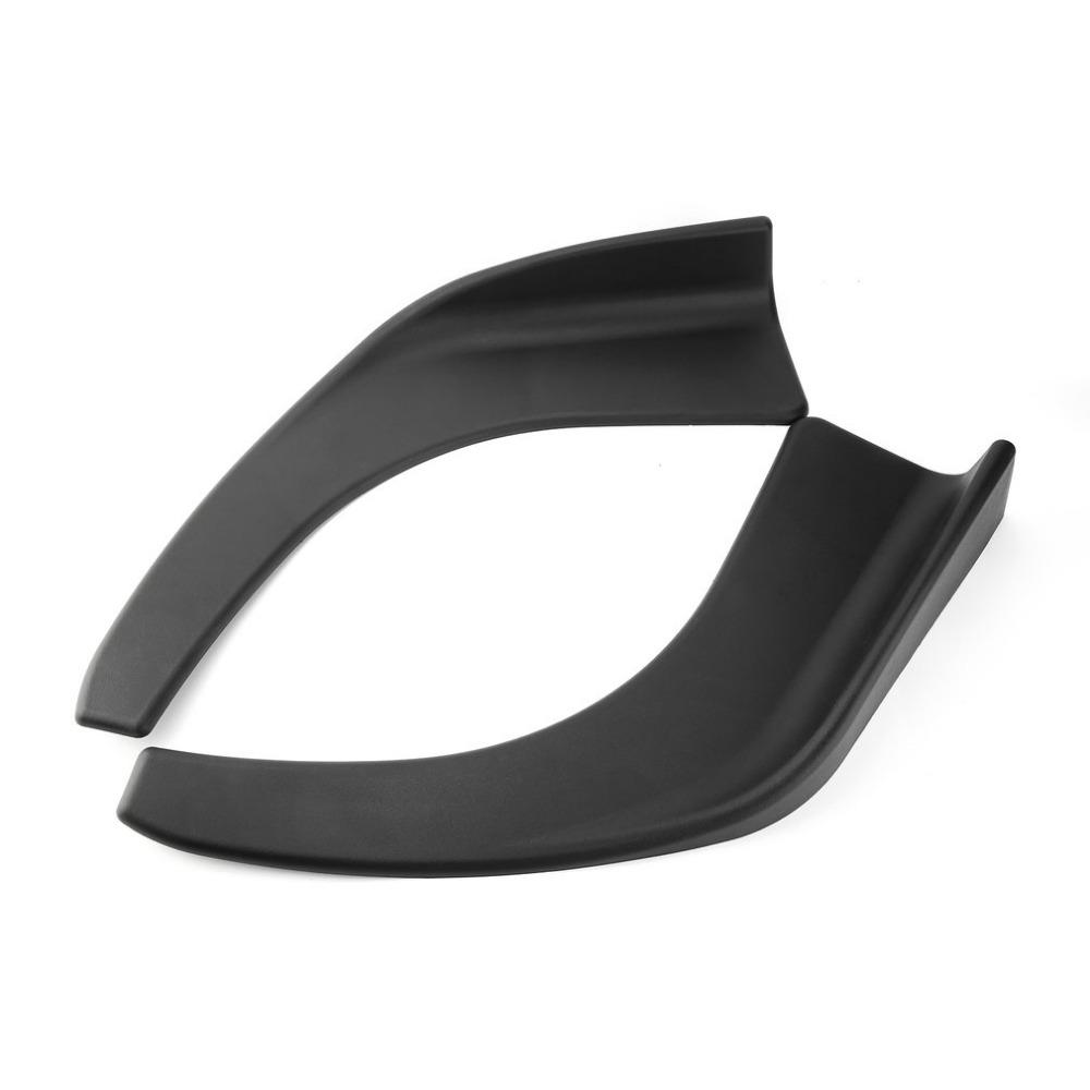 Σπόιλερ προφυλακτήρα από πλαστικό  74.5x19x10cm - 2 τεμάχια - OEM 53418