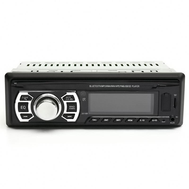 Mp3 Player αυτοκινήτου με υποδοχή AUX/USB/SD, Bluetooth, FM και τηλεχειριστήριο  - 2018B - OEM 53426