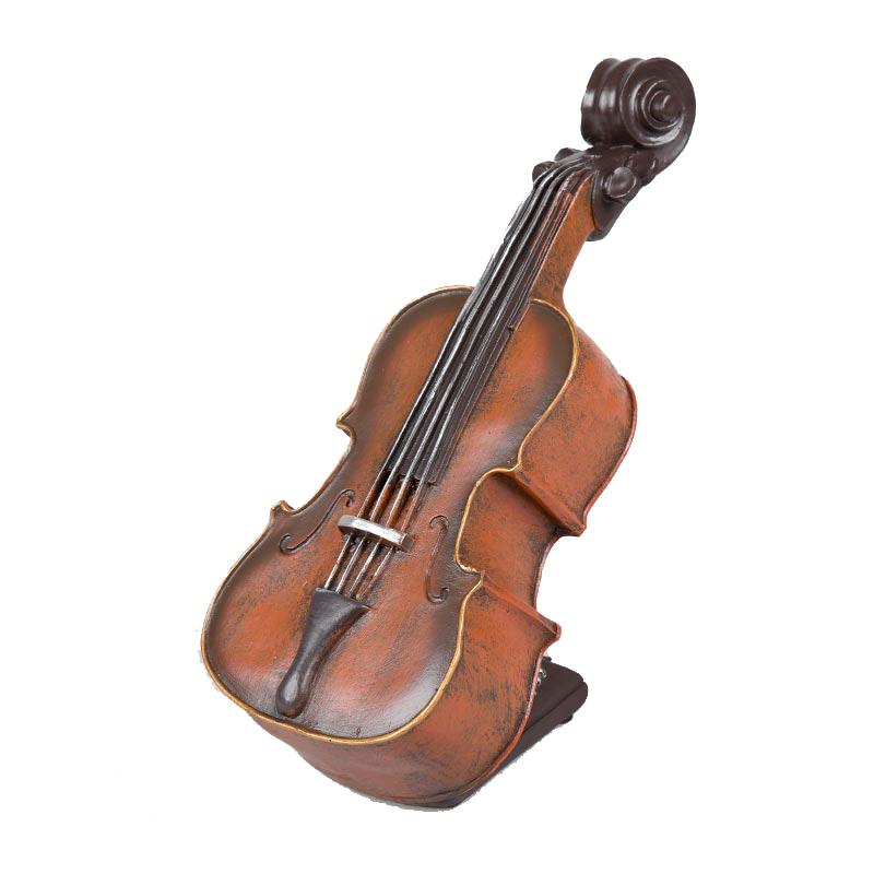 Vintage Διακοσμητικό Επιτραπέζιο Βιολί - OEM 53844