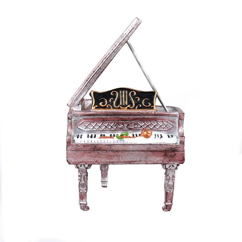 Διακοσμητικό Vintage Πιάνο - Κουμπαράς - OEM 53858