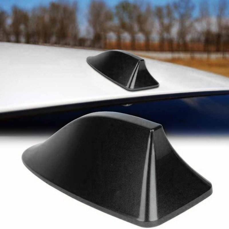 Kεραία αυτοκινήτου οροφής αυτοκόλλητη Shark Fin - Μαύρη - OEM 53865