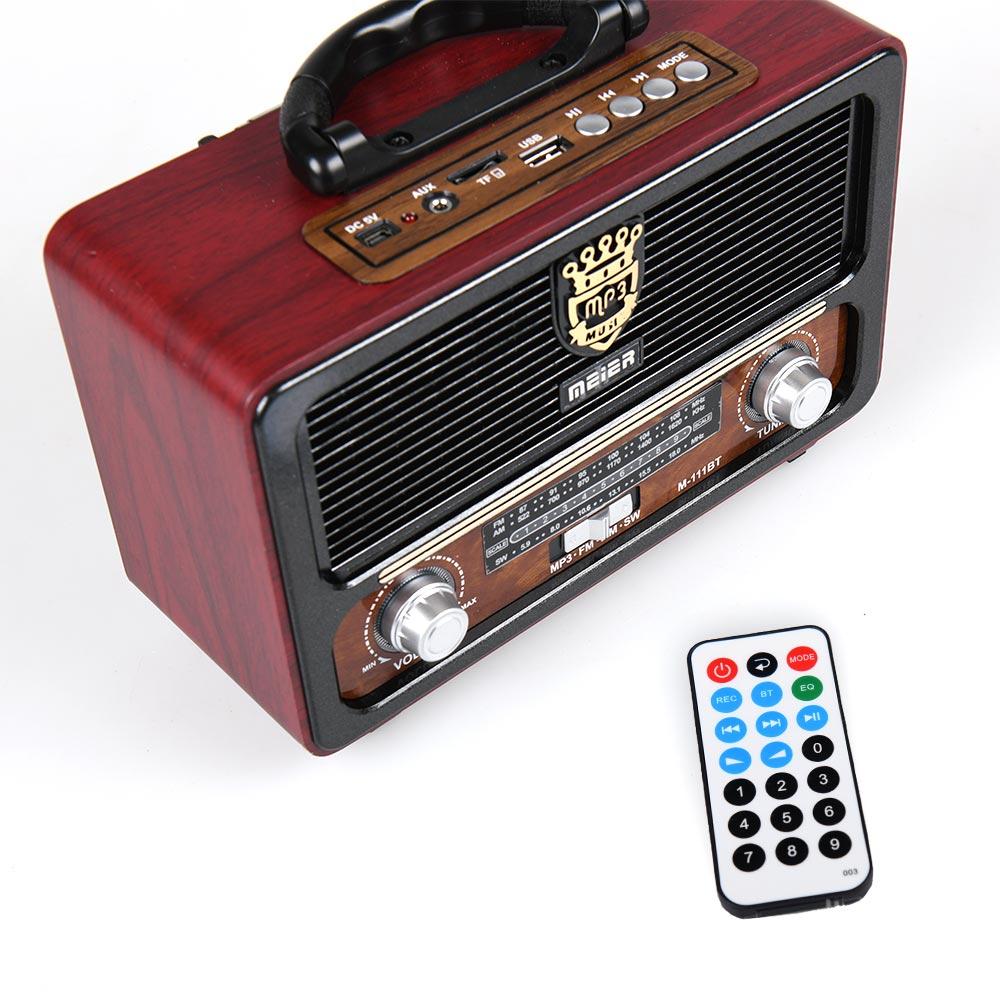Φορητό ηχοσύστημα M111BT - Κόκκινο/Μαύρο - OEM 53919