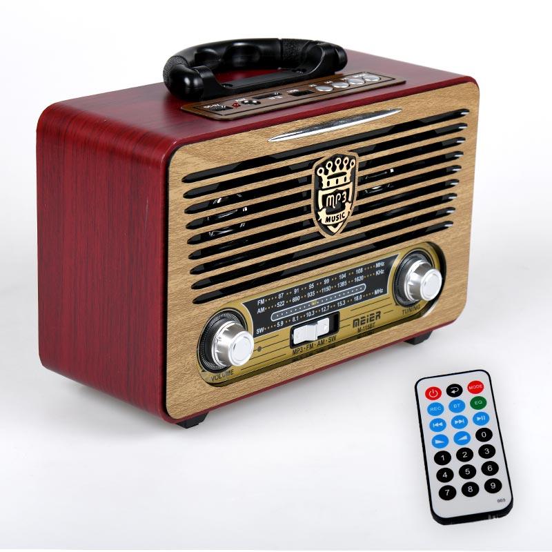 Vintage ηχοσύστημα φορητό M115BT - Κόκκινο - OEM 53921