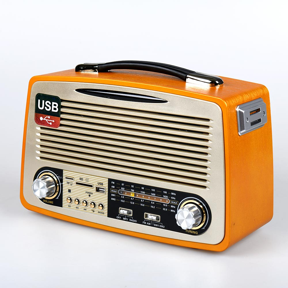 Vintage ηχοσύστημα 1700ΒΤ - κίτρινο - OEM 53938