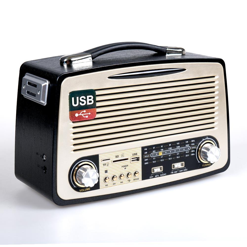 Vintage ηχοσύστημα 1700ΒΤ - μαύρο - OEM 53939