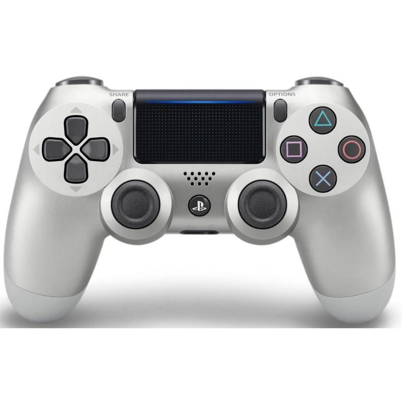 Sony DualShock 4 χειριστήριο Silver (Version 2) - OEM 54173
