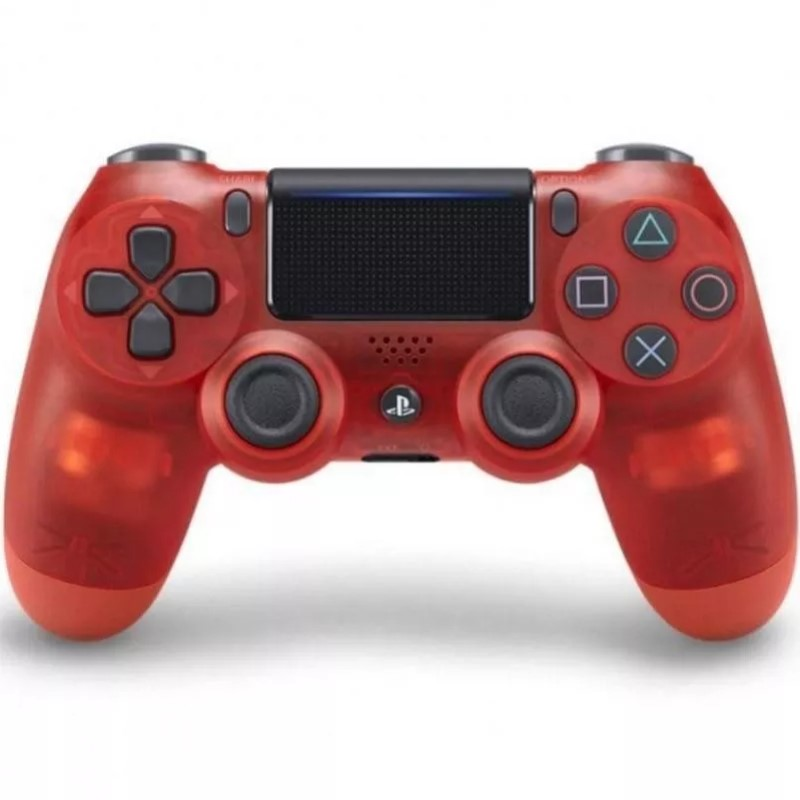 Sony DualShock 4 χειριστήριο Red Crystal (Version 2) - OEM 54176