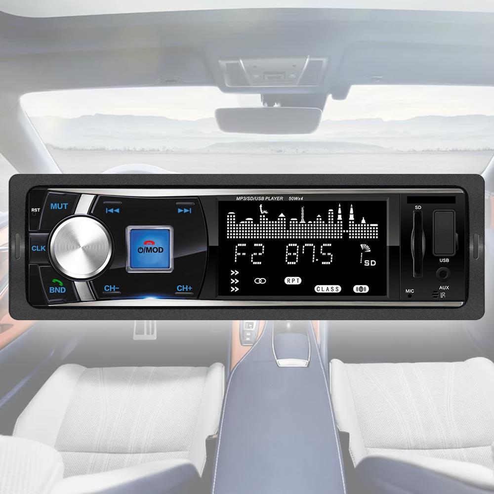 Mp3 Player αυτοκινήτου με υποδοχή AUX/USB/SD, bluetooth, FM και τηλεχειριστήριο - 302 - OEM 54183
