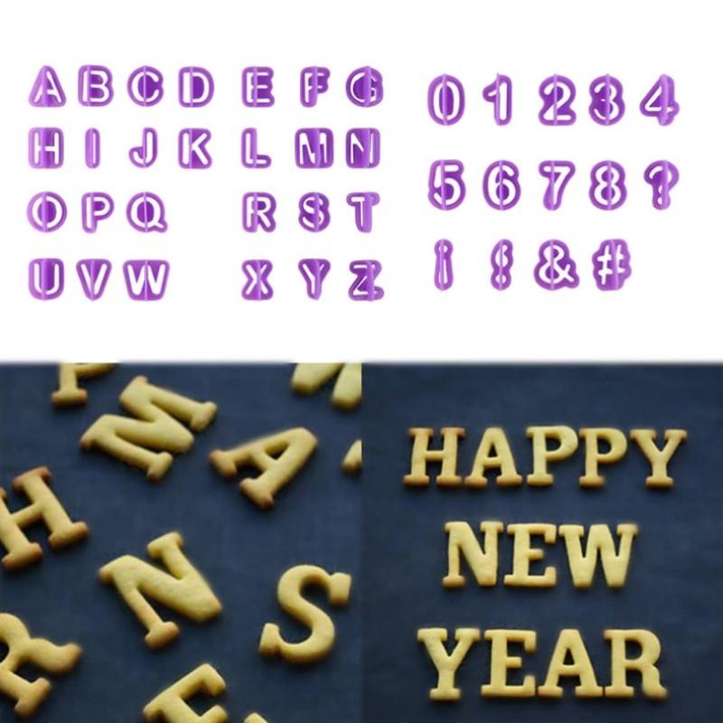 Κουπ πατ  με νούμερα και αγγλικά γράμματα- σετ 40 τεμαχίων - OEM 54195