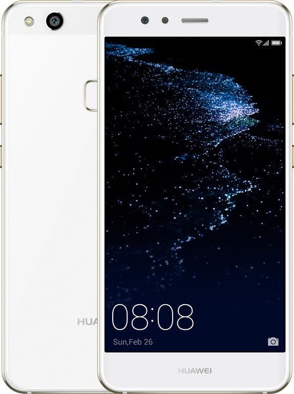 Huawei P10 Lite 4G 32GB White EU (Δώρο Tempered Glass)