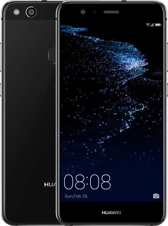 Huawei P10 Lite 4G 32GB Black EU (Δώρο Tempered Glass)