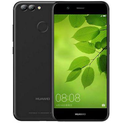Huawei Nova 2 64GB Dual Obsidian Black EU  (Δώρο Tempered Glass)