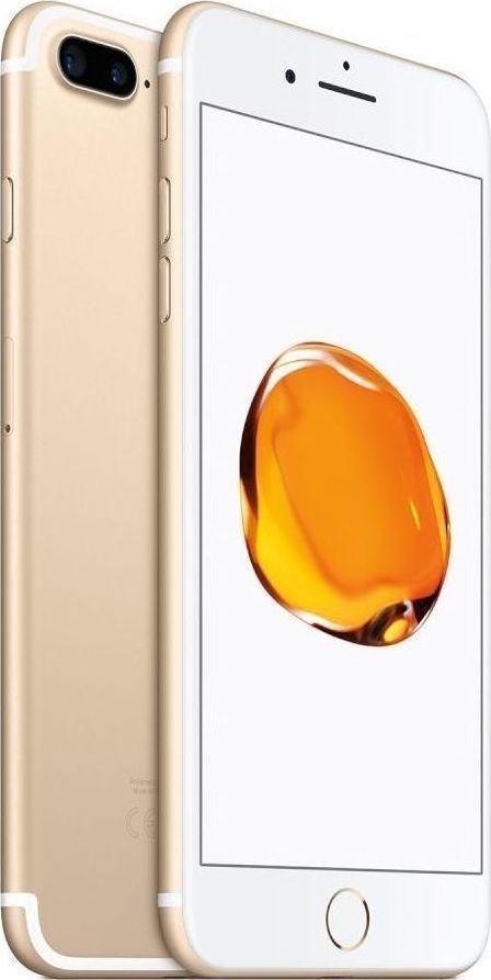 Apple iPhone 7 Plus 32GB Gold EU (Δώρο Tempered Glass + Θήκη) (Αγγλικός Φορτιστής + Αντάπτορας)