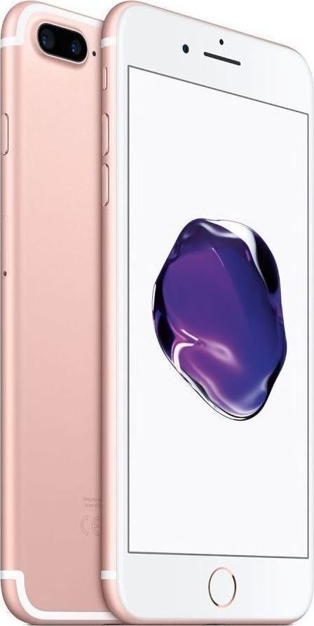 Apple iPhone 7 Plus 32GB Rose Gold EU (Δώρο Tempered Glass + Θήκη)