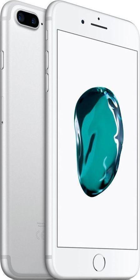 Apple iPhone 7 Plus 128GB Silver EU (Δώρο Tempered Glass + Θήκη)