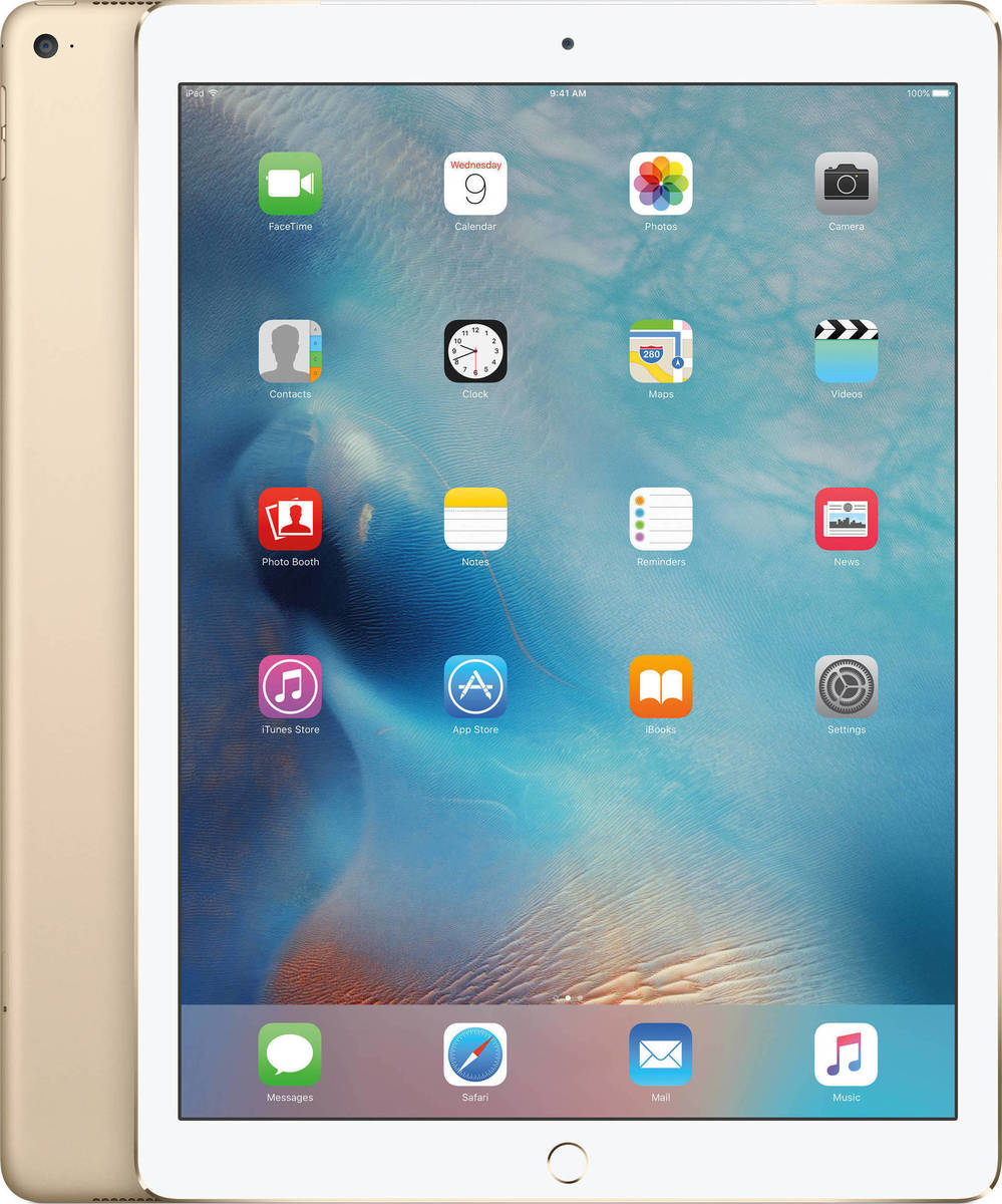 "Apple iPad Pro 12.9"" WiFi and Cellular 128GB Gold EU"