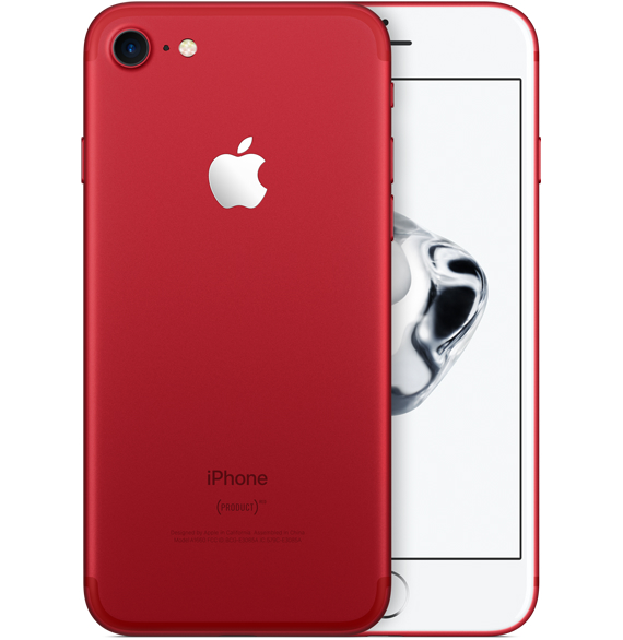 Apple iPhone 7 128GB Red EU (Δώρο Tempered Glass Full Cover + Θήκη)