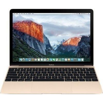 """Apple MacBook MLHF2B/A 12"""" 1.2GHz M5/8GB/512GB Gold EU (Αγγλικός Φορτιστής + Αντάπτορας)"""