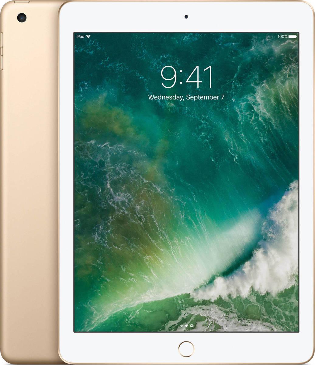 Apple iPad 9.7'' 2017 WiFi 32GB Gold Με Αντάπτορα Πληρωμή έως 12 δόσεις