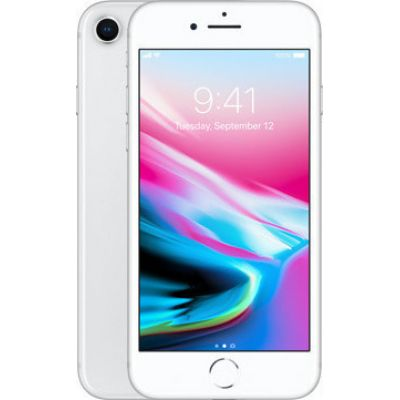 Apple iPhone 8 256GB Silver EU (Δώρο Tempered Glass + Θήκη)