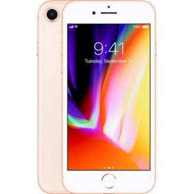 Apple iPhone 8 256GB Gold EU (Δώρο Tempered Glass + Θήκη)