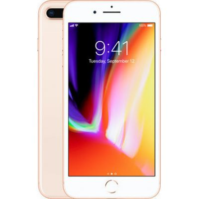 Apple iPhone 8 Plus 64GB Gold EU (Δώρο Tempered Glass + Θήκη)