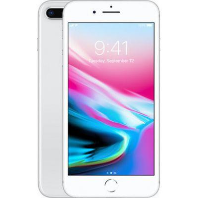 Apple iPhone 8 Plus 256GB Silver EU (Δώρο Tempered Glass + Θήκη)
