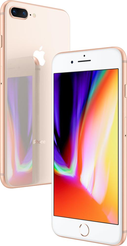 Apple iPhone 8 Plus 256GB Gold EU (Δώρο Tempered Glass + Θήκη)