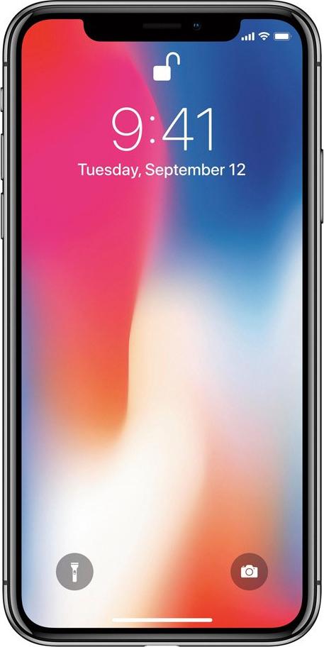 Apple iPhone X 64GB Space Grey EU Πληρωμή έως 12 δόσεις