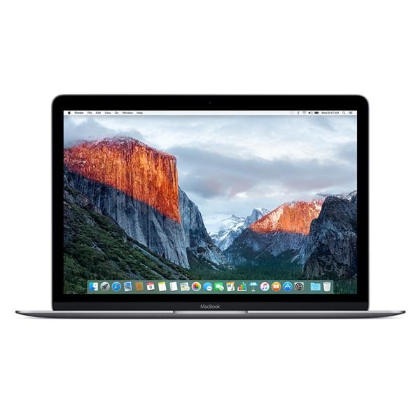 Apple MacBook MNYF2 12'' 1.2GHz M3/8GB/256GB Space Grey English Keyboard Με Αντάπτορα Πληρωμή έως 12 δόσεις