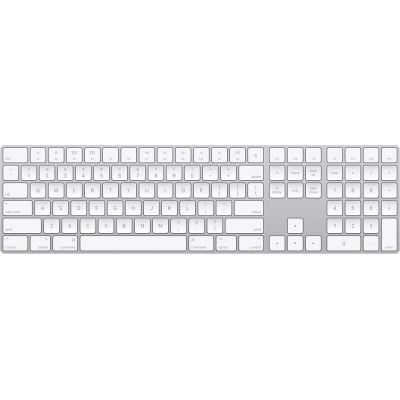 Apple Magic Keyboard with Numeric Keypad MQ052 White English Πληρωμή έως 12 δόσεις