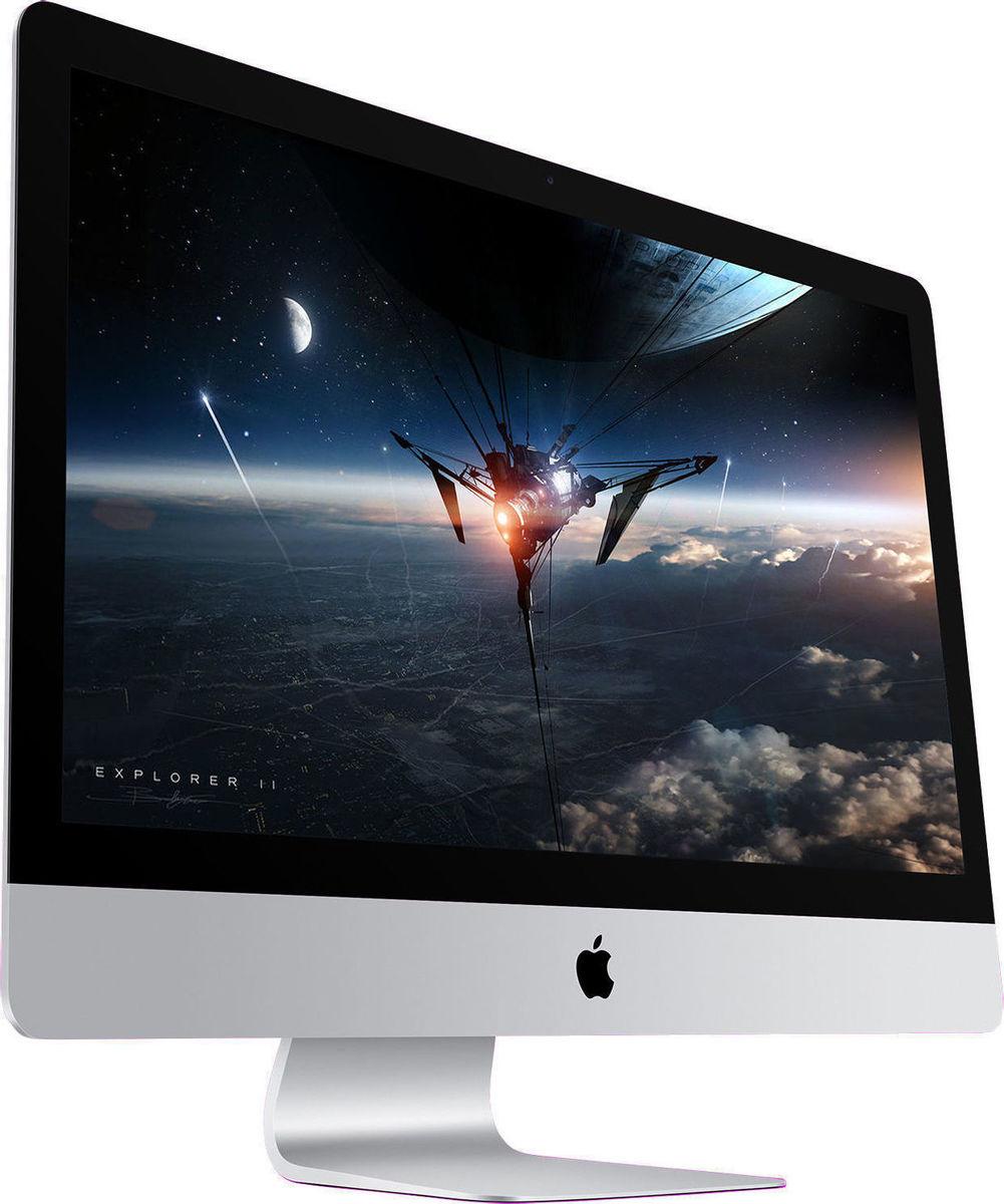 Apple iMac MNED2 27'' 3.8GHz i5/8GB/2TB 2017 5K Retina Silver English Keyboard Πληρωμή έως 24 δόσεις