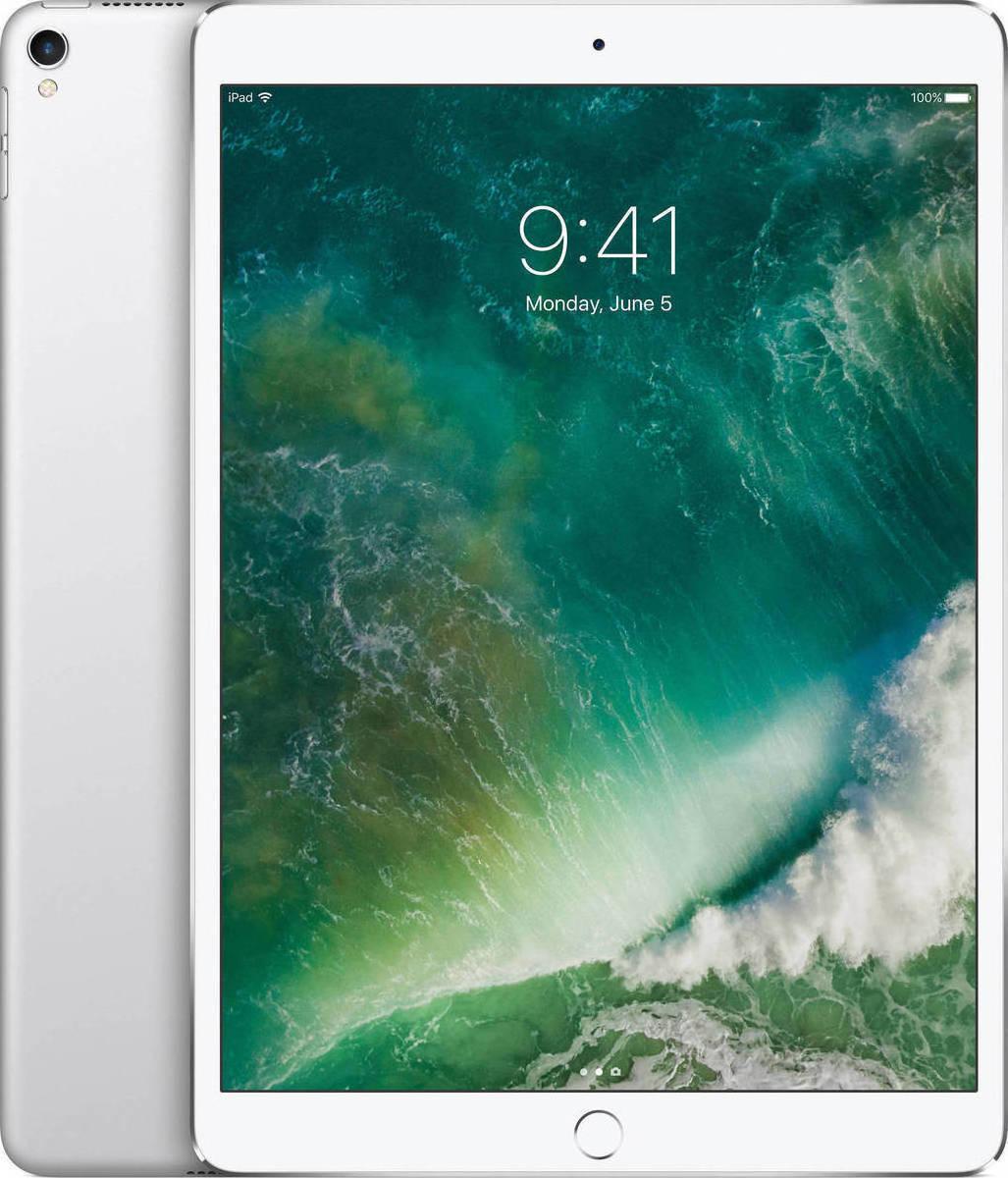Apple iPad Pro 10.5'' 2017 WiFi and Cellular 64GB Silver Με Αντάπτορα Πληρωμή έως 12 δόσεις