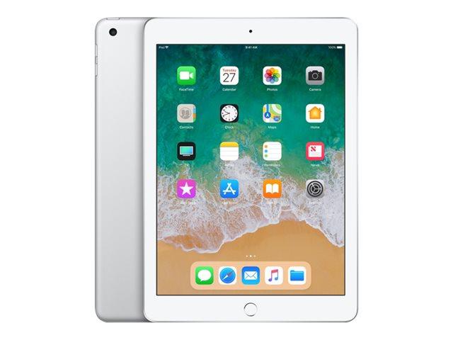 Apple iPad 9.7'' 2018 WiFi And Cellular 32GB Silver Με Αντάπτορα Πληρωμή έως 24 δόσεις