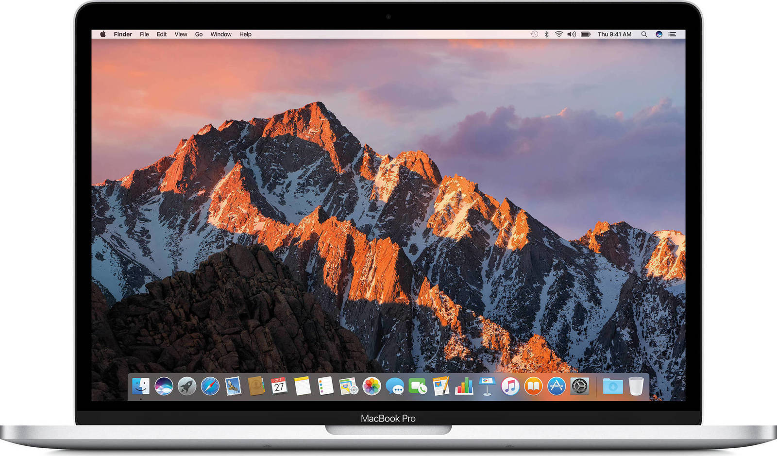 Apple MacBook Pro MPXU2 13.3'' 2.3GHz i5/8GB/256GB Silver English Keyboard Με Αντάπτορα Πληρωμή έως 24 δόσεις