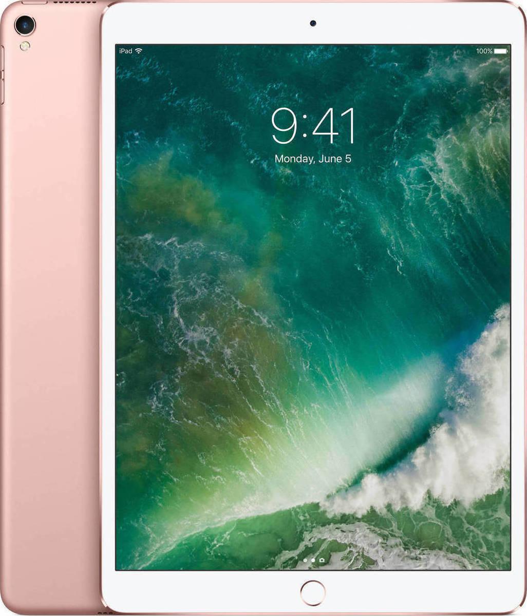 Apple iPad Pro 12.9'' 2017 WiFi and Cellular 512GB Rose Gold Με Αντάπτορα Πληρωμή έως 12 δόσεις