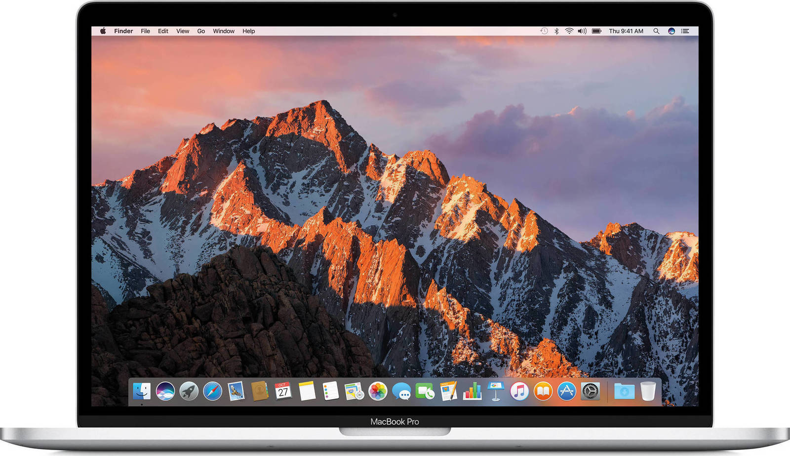 Apple MacBook Pro MPTU2 15.4'' 2.8GHz i7/16GB/256GB With Touch Bar 2017 Silver English Keyboard Με Αντάπτορα Πληρωμή έως 24 δόσεις*