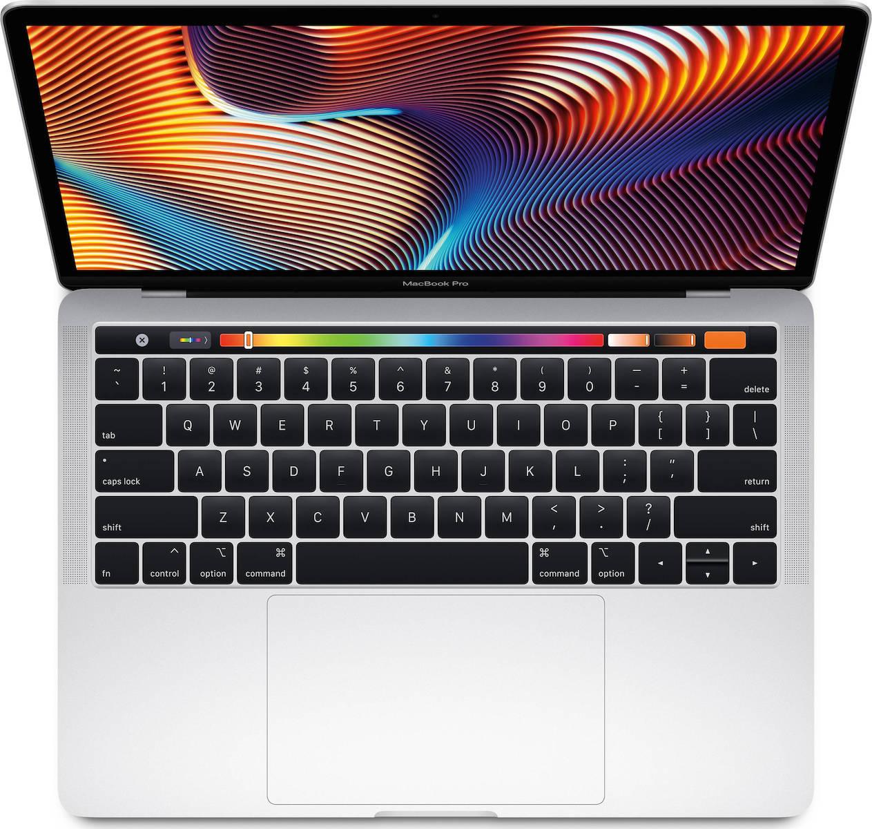 Apple MacBook Pro MR9U2 13.3'' 2.3GHz i5/8GB/256GB With Touch Bar 2018 Silver English Keyboard Με Αντάπτορα Πληρωμή έως 24 δόσεις