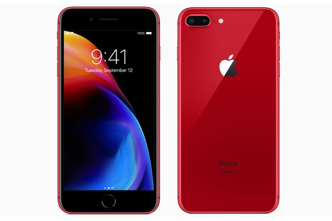 Apple iPhone 8 Plus 64GB Red EU (Δώρο Tempered Glass + Θήκη)