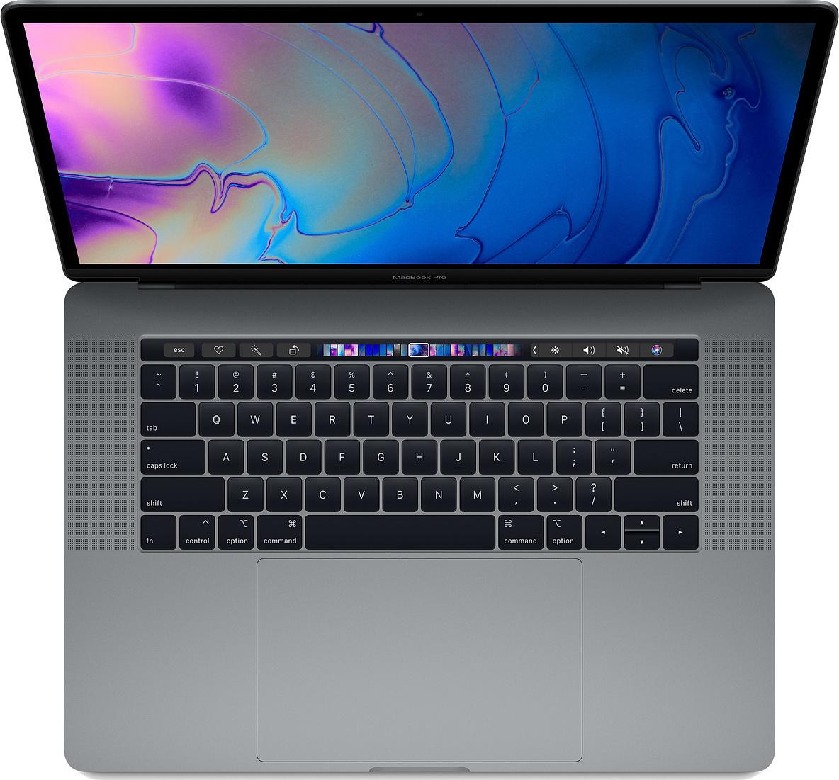 Apple MacBook Pro MR932 15.4'' 2.2GHz i7-8750H/16GB/256GB With Touch Bar 2018 Space Grey English Keyboard Με Αντάπτορα Πληρωμή έως 24 δόσεις