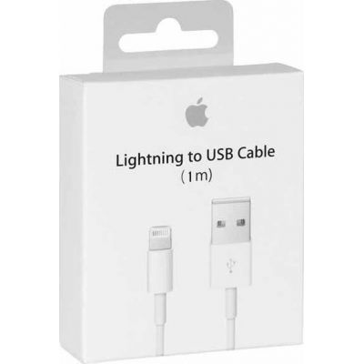 Καλώδιο Original Apple USB To Lighting MD818ZM 1.0m White Retail